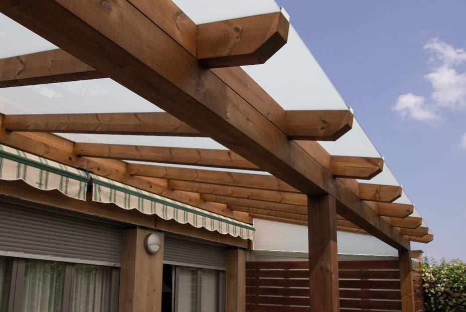 Wooduart p rgolas y mobiliario de jard n - Tipos de porches ...