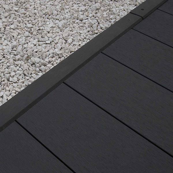 Tarimas de madera sintetica color gris oscuro for Cocina de madera gris oscuro