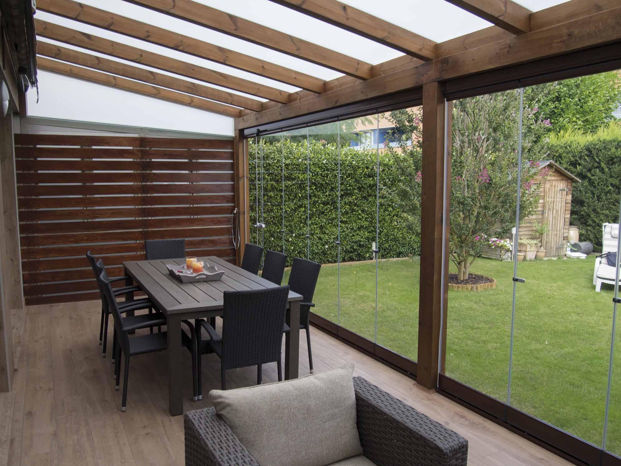 Porches a medida wooduart pergolas y mobiliario de jard n - Nebulizadores para terrazas baratos ...